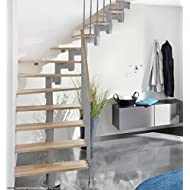 Profigold Torino Space Saver Staircase Kit with 30mm Solid Beech