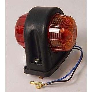 4 x IFOR Williams Brian James Bateson R/A Seite Marker Leuchte E & Arai geprüft mit Leuchtmittel