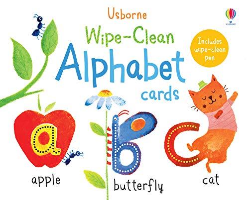 Wipe-clean Alphabet Cards (Wipe-clean Cards)