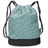 MLNHY Small Daisies On Pink Branches Color Drawstring Bag Backpack Bundle Backpack