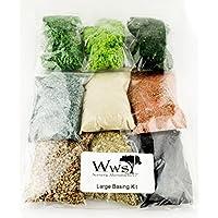WWS Kit Grande de Materiales Base para Miniaturas- Warhammer, Warlord, FoW