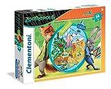 Clementoni 059 - Puzzle Maxi Zootropolis, 24 Pezzi