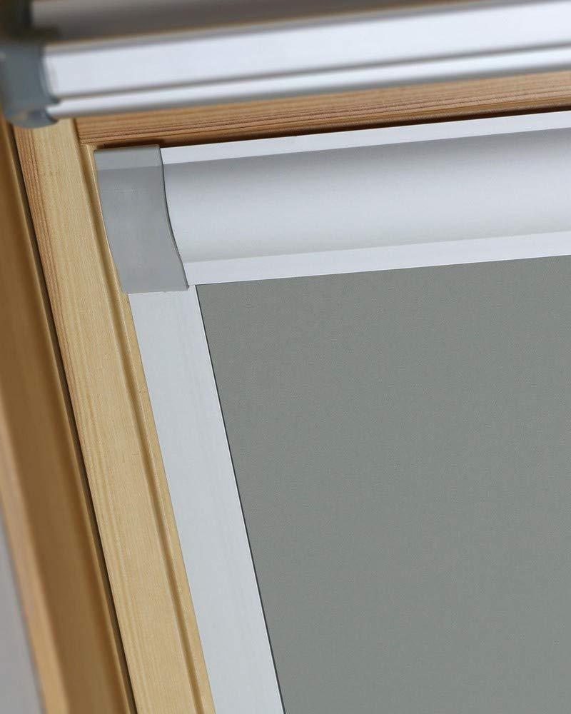 Bloc Skylight M04 Velux Tenda Oscurante Per Finestre Colore Peltro 603mm X 730mm