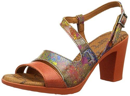 ArtRio Strap - Decolleté aperte sul retro con tacco donna Multicolore (Multicolor (Urban Holi))