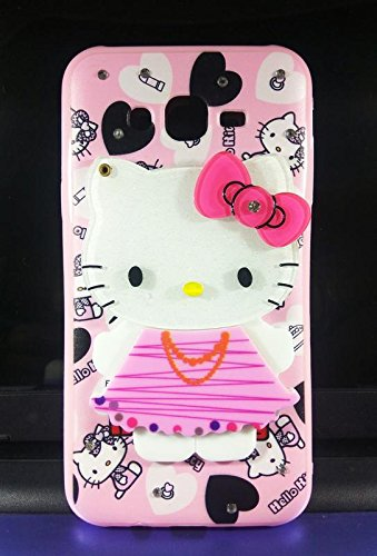 huge discount 896ba de5c9 Dream2Cool Mirror Hello Kitty Designer Soft Back Cover Case for Samsung  J7/Samsung Galaxy J7 Sm-J700F 2015