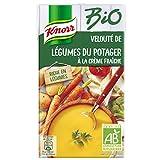 Knorr Soupe Velouté Légumes du Potager à la Crème Fraîche Brique 1L