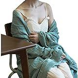 HQQ Ins Nordic Stricken Decke Baumwolle Decke grün Bett Sofa Nap Freizeit Decke 130 * 180 cm