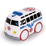 NextX Krankenwagen Baby Fahrzeug mit Licht und Sound Berühren-und-Fahren-Auto für Jungen und Mädchen