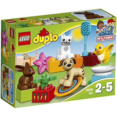 LEGO Duplo Town Family Pets Building Blocks for Kids 2 to 5 Years (15 Pcs)10838