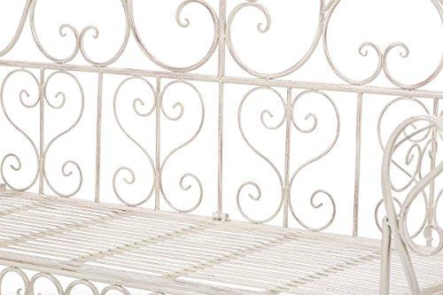CLP Gartenbank Minna aus lackiertem Eisen