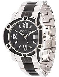 Cerruti Hombre Reloj de pulsera plata crf00 2e221b
