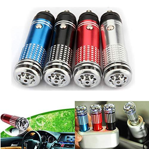 takestop® PURIFICATORE d'Aria ws1248 IONIZZATORE 12v Deodorante Auto LED Presa ACCENDISIGARI RIMUOVE Polvere POLLINE Fumo Colore Casu