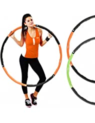 Mirafit Weighted Fitness Hula Hoop - Choice of Colours