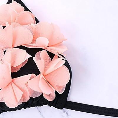 Conjunto Bikini - Flores Rosas