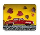 Big Red Toy Car Mousepad