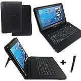 'QWERTZ Teclado Tablet Funda para Dell Venue 8Pro smtv 8p10fg26b 8con función atril–Asignación De Botón Alemán 8pulgadas