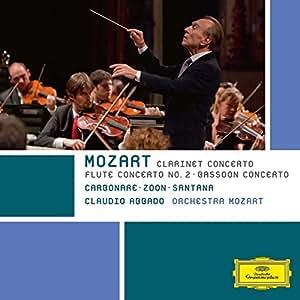 Mozart: Clarinet Concerto / Bassoon Concerto / Flute Concerto No. 2