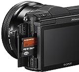 Sony Alpha 5100 Systemkamera mit ultraschnellem Hybrid-AF (180° drehbares 7,62 cm (3 Zoll) LC-Display, 24,3 Megapixel, Exmor APS-C Sensor, Full HD Video) inkl. SEL-P1650 schwarz - 13