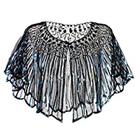 Sugely Banquet Evening Dress Female Sequin Stage European and American Wedding Dress Shawl,Women