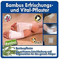 Gina Su Bambuspflaster, 30 Stück ( 3 x 10 Stück )Entschlackung und Regeneration des Körpers preisvergleich bei billige-tabletten.eu