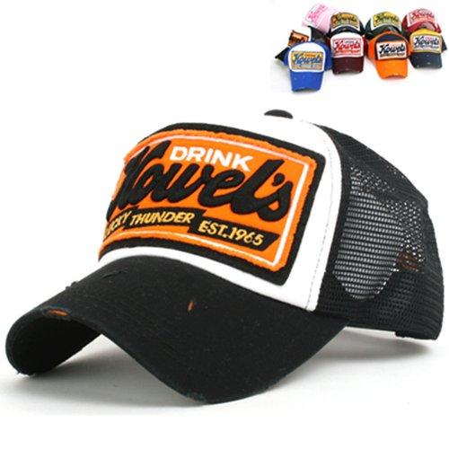 Howel's Trucker Cap Schwarz/Orange