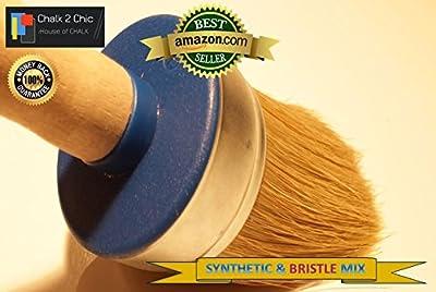 # BB55-5,6cm-55mm-XL +-Extra Large Plus-Kreide Farbe reinen Borsten und Synthetikfasern Shabby Chic Rund Möbel Malerei Pinsel Pinsel