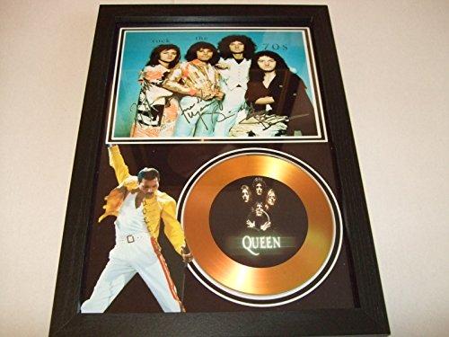 Queen firmato disco d' oro