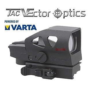 VECTOR OPTICS RedDot Rotpunkt Visier RATCHED II Zieloptik für Jagd und Sport