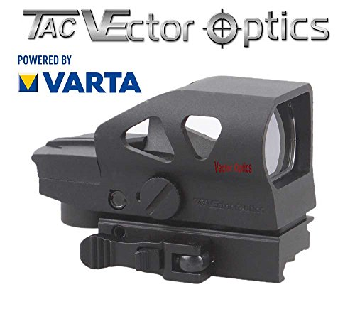 VECTOR-OPTICS RedDot Rotpunkt Visier RATCHED II Zieloptik für Jagd und Sport -