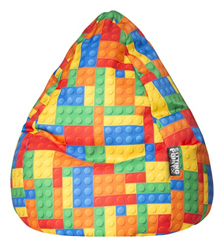Sitting Point Kindersitzsack Bricks XL ca. 220 Liter