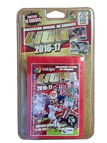 Liga Este - Blíster de 10 sobres de cromos 2016-2017 (Panini 003154BL