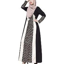 Highdas caftán de encaje musulmanes bata nación costura de encaje ajustado vestido de la manera Árabe