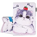 iPad Air / Air 2 / New iPad 9.7 inch 2017 Case, A-BEAUTY Painting Premium PU Leather Flip Wallet Slim Book Case for Apple iPad Air2 / iPad Air / and New iPad 9.7 inch 2017 Model, Tomato Cat