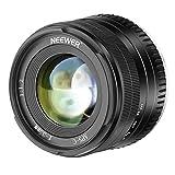 Neewer 35mm F1.2 Große Blendung Haupt APS-C Aluminium Objektiv Kompatibel mit Fuji X Montage Mirrorless Kameras X-A1 X-A10 X-A2 X-A3 X-AT X-M1 X-M2 X-T1 X-T10 X-T2 X-T20 X-Pro1 X-Pro2 X-E1 X-E2 X-E2s
