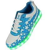 Shinmax , Herren Sneaker blau blau