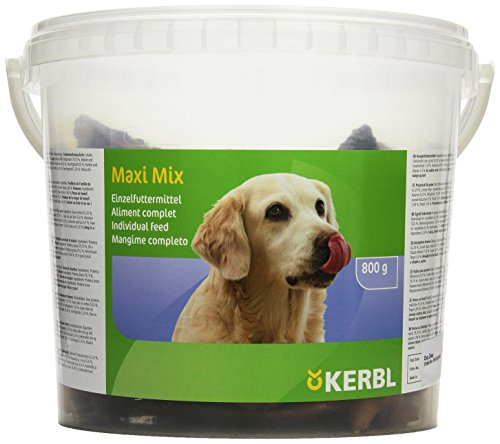 Kerbl 84836 Maxi-Mix Kauartikel im Eimer 800 g