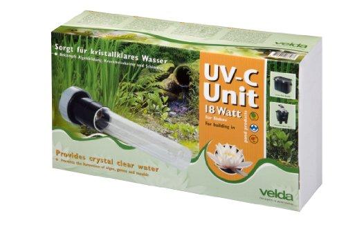 Velda 126575 Ersatz-UV-C Einheit für Elektronische Entferner gegen Grünalgen im Teich, UV-C Unit 18 Watt -