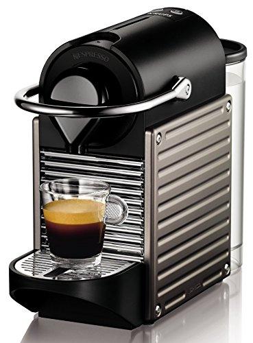 Krups XN 3005 Nespresso Pixie, 19 bar Thermoblock Heizsystem, electric titan (Generalüberholt)