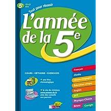 ANNEE DE LA 5E