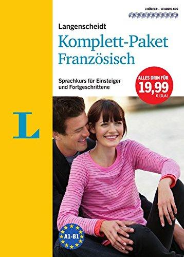 Langenscheidt Komplett-Paket Französisch - 3 Bücher mit 10 CDs: Der Sprachkurs für Einsteiger und...