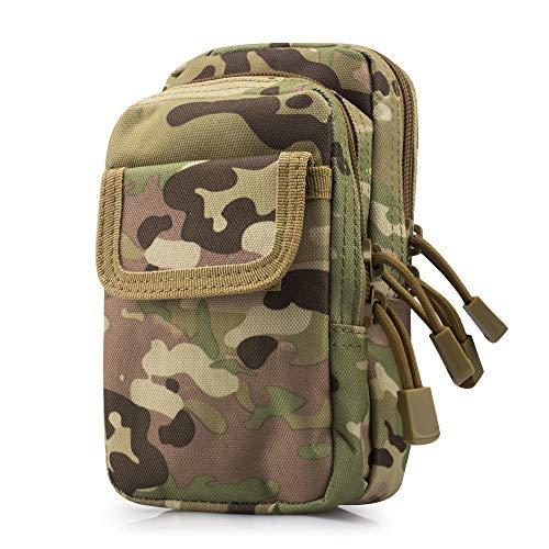 5789607dc0 SPAHER Oxford Waistpacks Ejército Militar MOLLE Tactical Cintura Bumbag  Bolsa de Viaje de cinturón de Viaje