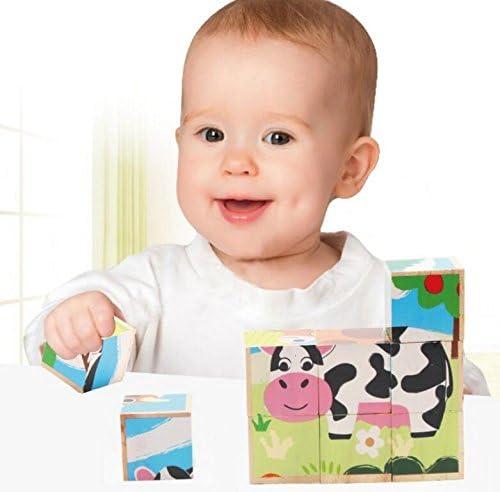Jeux de la Petite enfance Creative 3D Animal Puzzle éducatif Early Learning Formes Couleur Animal Toy Fantastique Cadeaux pour Les  s | Un Approvisionnement Suffisant