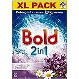 Bold 2en 1Bio Lessive en poudre lavande et camomille 80par paquet