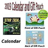 Star Trek: navires de la ligne 2019Calendrier Calendrier de haute qualité + pochette cadeau...
