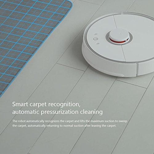 automatische untergrunderkennung des roboters von xiaomi