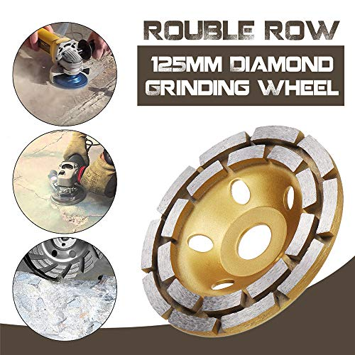 ChaRLes 125Mm Diamant Beton Schleifen Tasse Rad Scheibe Segment Mauerwerk Granit Stein Schleifscheibe -