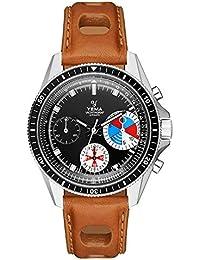 YEMA YACHTINGRAF Heritage - Reloj para Hombre con Movimiento Suizo ETA Valjuux 7753, Cristal Zafiro