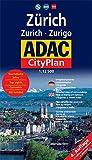 Zürich - Zurich - Zurigo: 1:12500 (ADAC Citypläne)