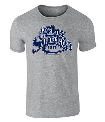 On Any Sunday, Teufelskerle auf heißen Feuerstühlen, Vintage Motorcycle, Motorrad, Motorräder, 1971 Grafik Herren T-Shirt - offiziell lizenziert von Bruce Brown Films, S - XXL Sport Gray