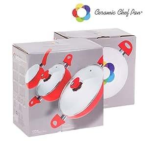 Batterie de Cuisine Ceramic Chef Pan (5 pièces)